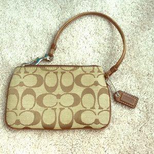 Coach wristlet/ change purse